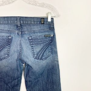 7 for all Mankind   Dojo jeans medium wash size 25